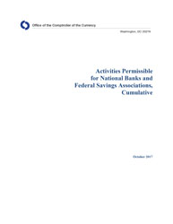 Activities Permissible for National Banks and Federal Savings Associations Cover Image