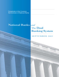National Banks and The Dual Banking System Cover Image