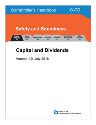 Comptroller's Handbook: Capital and Dividends Cover Image