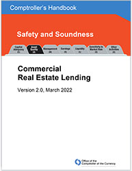 Comptroller's Handbook: Commercial Real Estate Lending Cover Image