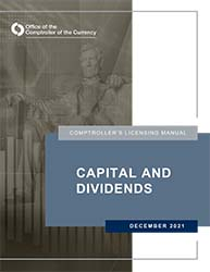 Licensing Manual - Capital and Dividends Cover Image
