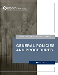 Licensing Manual - General Policies and Procedures Cover Image