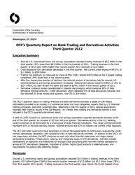 Quarterly Report on Bank Derivatives Activities: Q3 2012