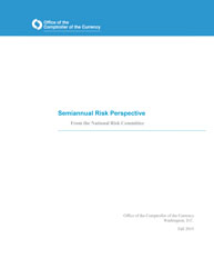 Semiannual Risk Perspective, Fall 2015 Cover Image
