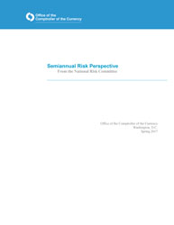 Semiannual Risk Perspective, Spring 2017 Cover Image