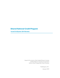 Shared National Credits 2019 Cover Image